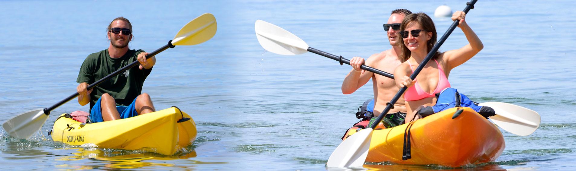Kayak Rentals & Tours